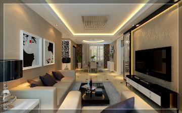 中建国际港90平米两居室简约风格