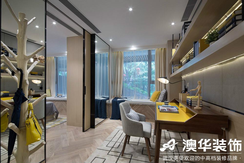 餐厅图片来自澳华装饰有限公司在汉口新城公园世家现代风格的分享