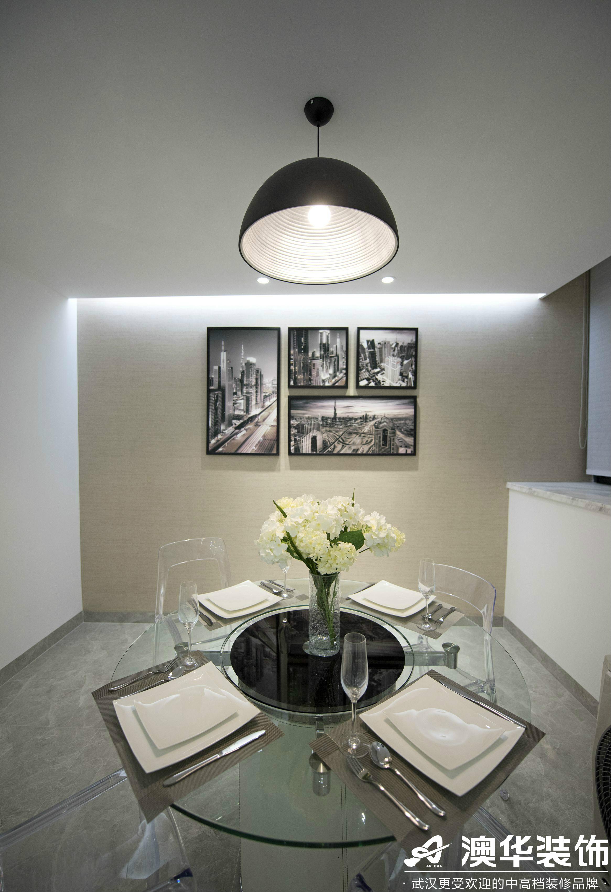 餐厅图片来自澳华装饰有限公司在悦达新天地现代风格的分享