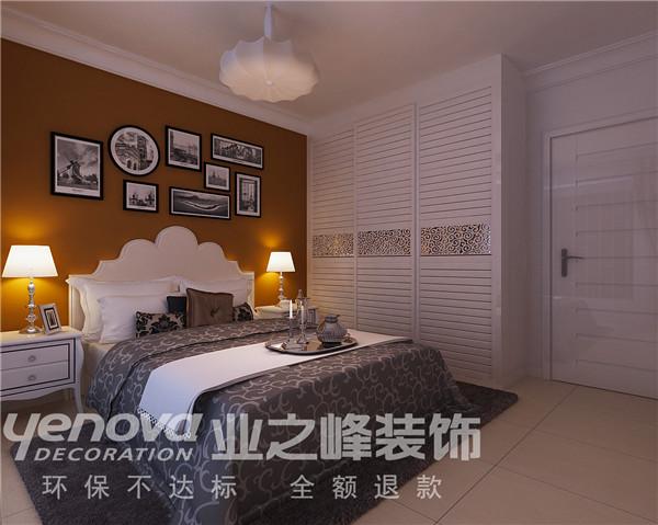 太原业之峰 三居 中式 卧室图片来自太原业之峰小李在丽泽苑的分享