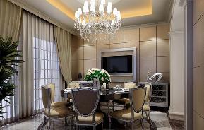 欧式 古典 混搭 温馨 餐厅图片来自重庆天地和豪装工厂店在欧式古典风格的分享