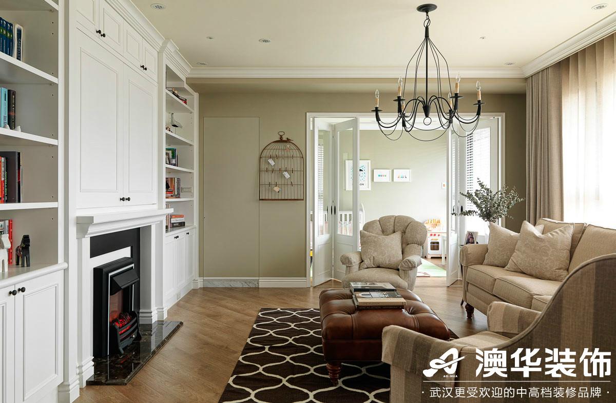 客厅图片来自澳华装饰有限公司在东湖楚天府美式风格的分享
