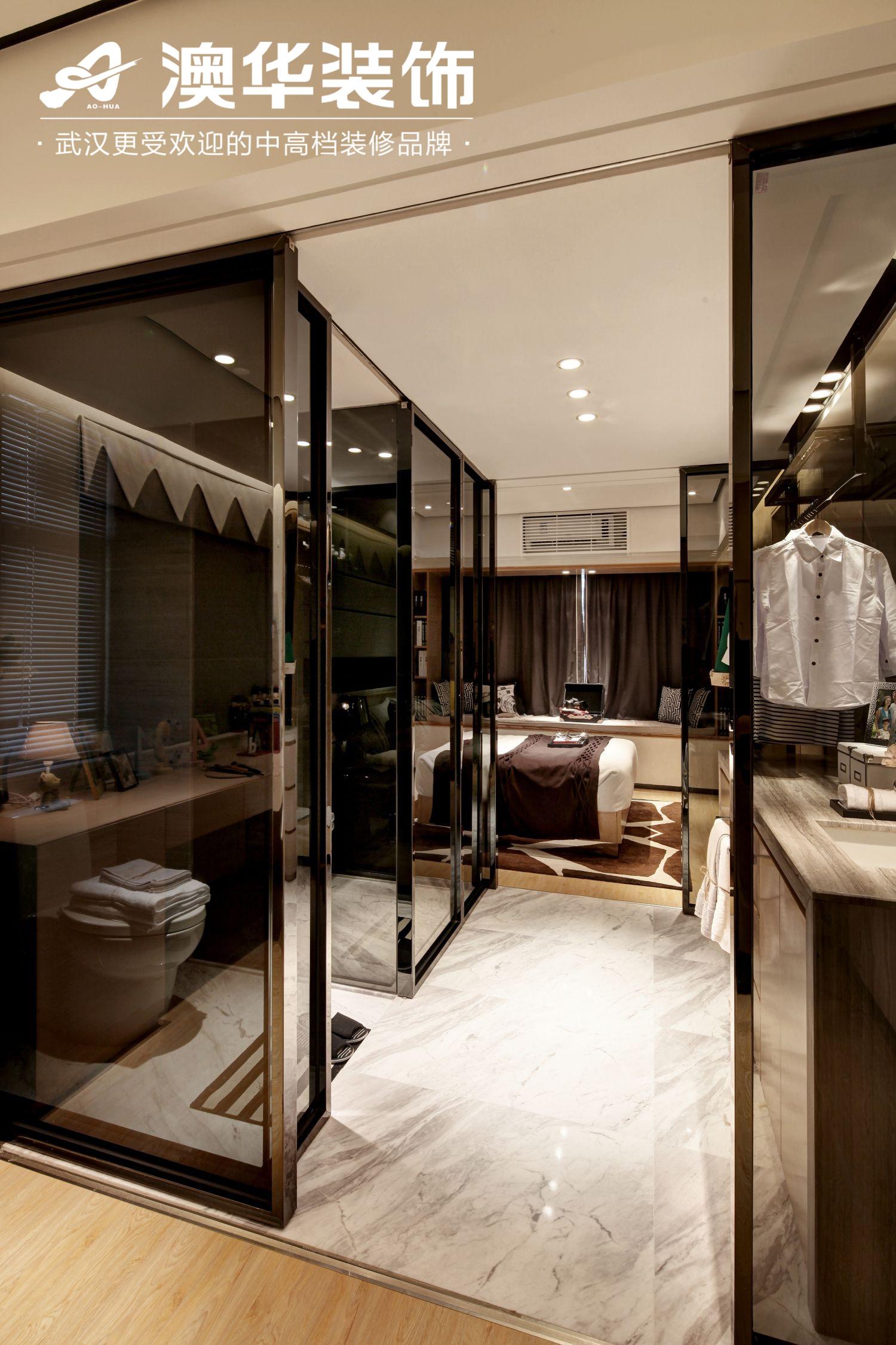 简约 卫生间图片来自澳华装饰有限公司在中建福地星城现代风格的分享