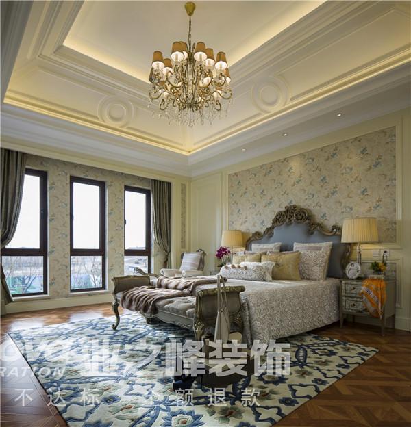 法式 太原业之峰 四居 卧室图片来自太原业之峰小李在万达公馆法式风格设计装饰效果图的分享