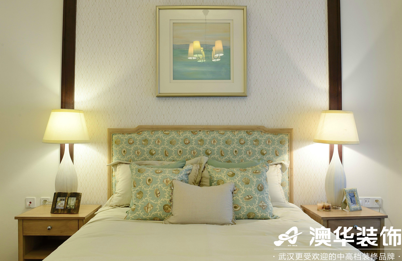 卧室图片来自澳华装饰有限公司在中部慧谷美式风格的分享