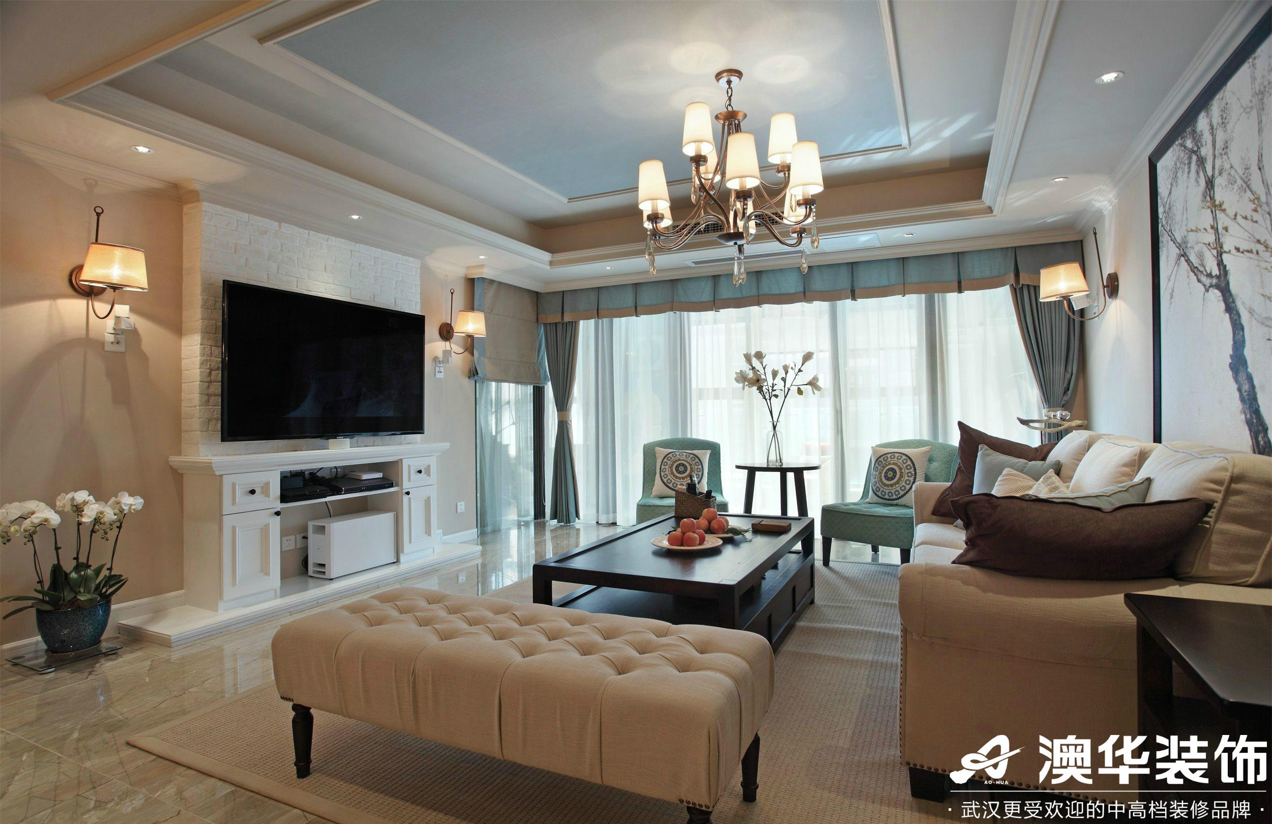 客厅图片来自澳华装饰有限公司在联投广场美式风格的分享
