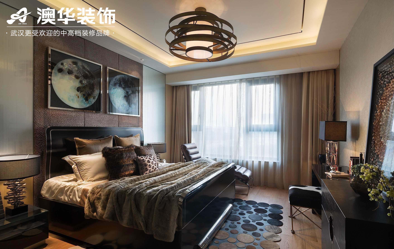 卧室图片来自澳华装饰有限公司在丰尚御龙湾现代风格的分享