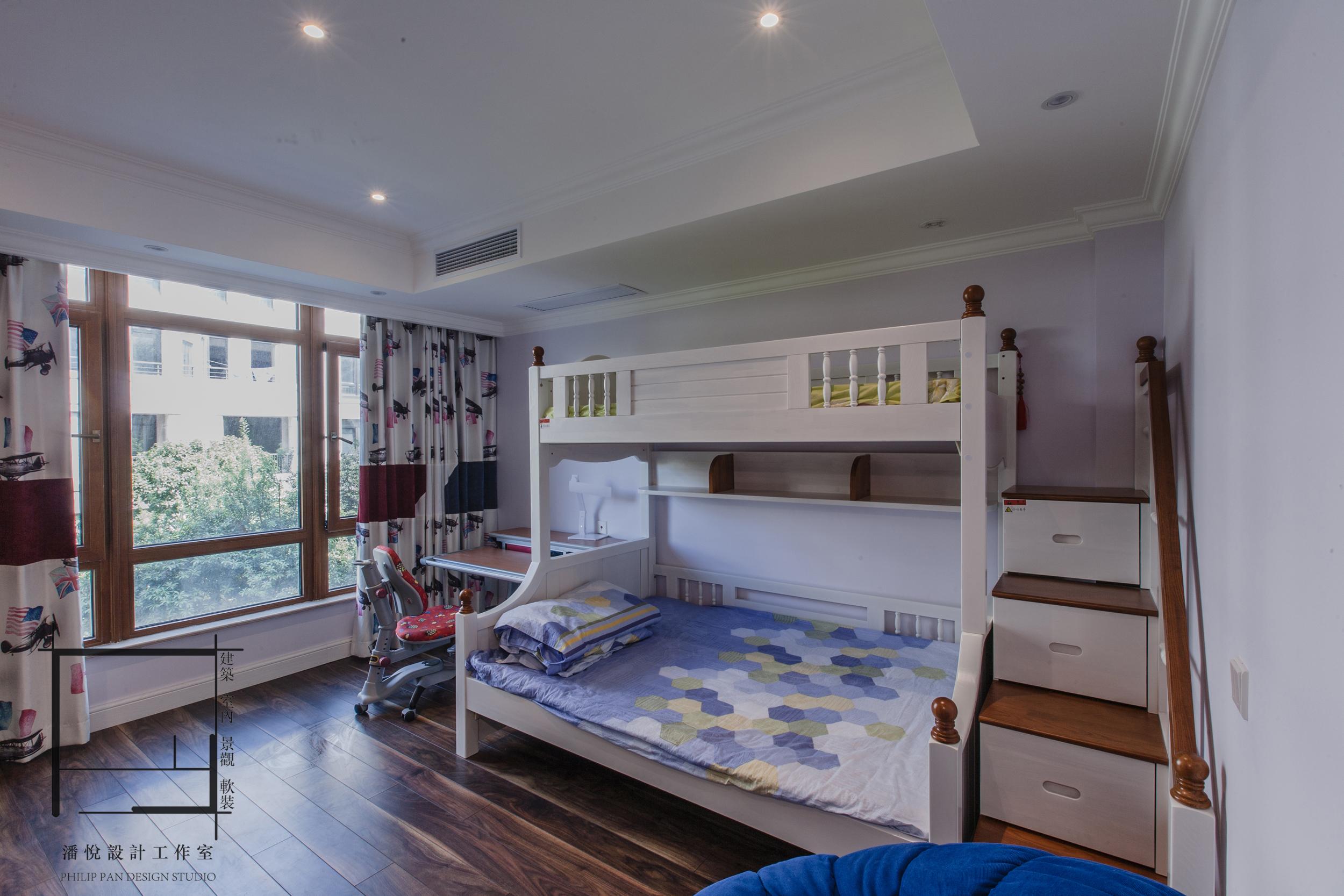欧式 混搭 80后 小资 儿童房图片来自潘悦设计事务所在品味·歐風-上海復地香梔花園的分享