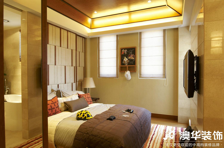 卧室图片来自澳华装饰有限公司在碧桂园生态城·东南亚风格的分享