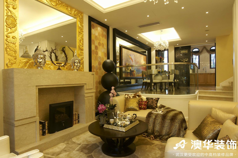 客厅图片来自澳华装饰有限公司在联投花山郡·东南亚风格的分享
