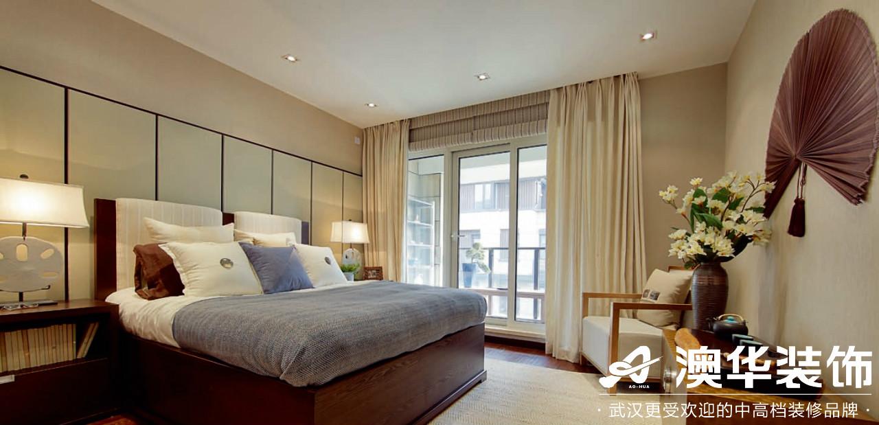 卧室图片来自澳华装饰有限公司在海悦天地·现代泰式的分享