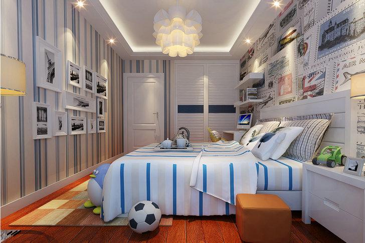 学清苑 简约 卧室图片来自业之峰装饰旗舰店在浪漫格调的分享