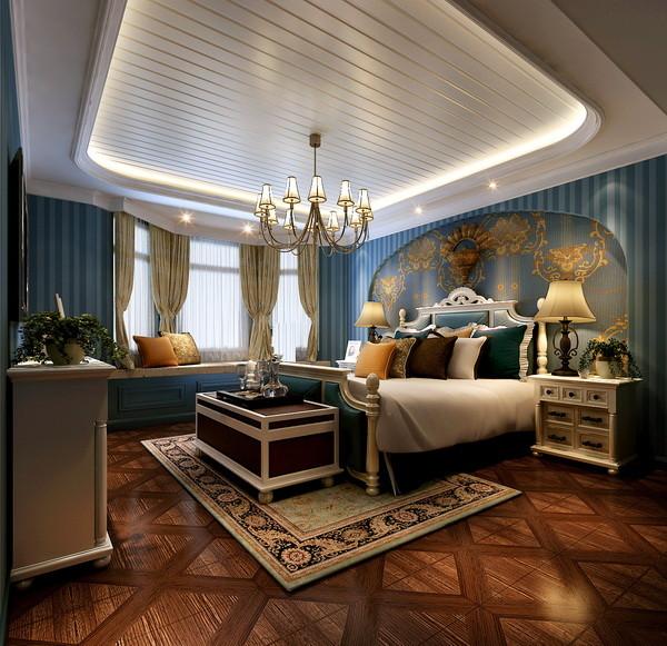卧室图片来自北京居然元洲装饰小尼在润泽庄园260平米美式休闲的分享