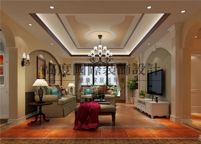 成都装修 九号公馆 高度国际装 客厅图片来自别墅豪宅装修在九号公馆装修的分享