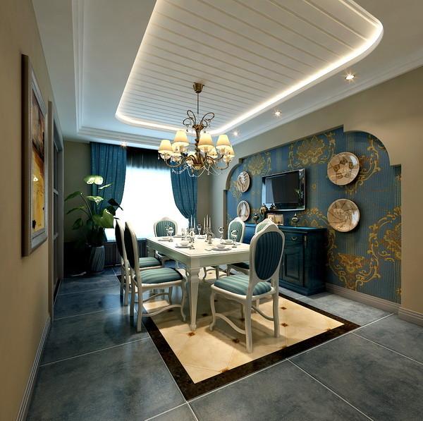 餐厅图片来自北京居然元洲装饰小尼在润泽庄园260平米美式休闲的分享