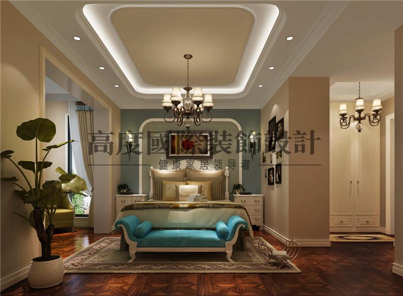 成都装修 九号公馆 高度国际装 卧室图片来自别墅豪宅装修在九号公馆装修的分享