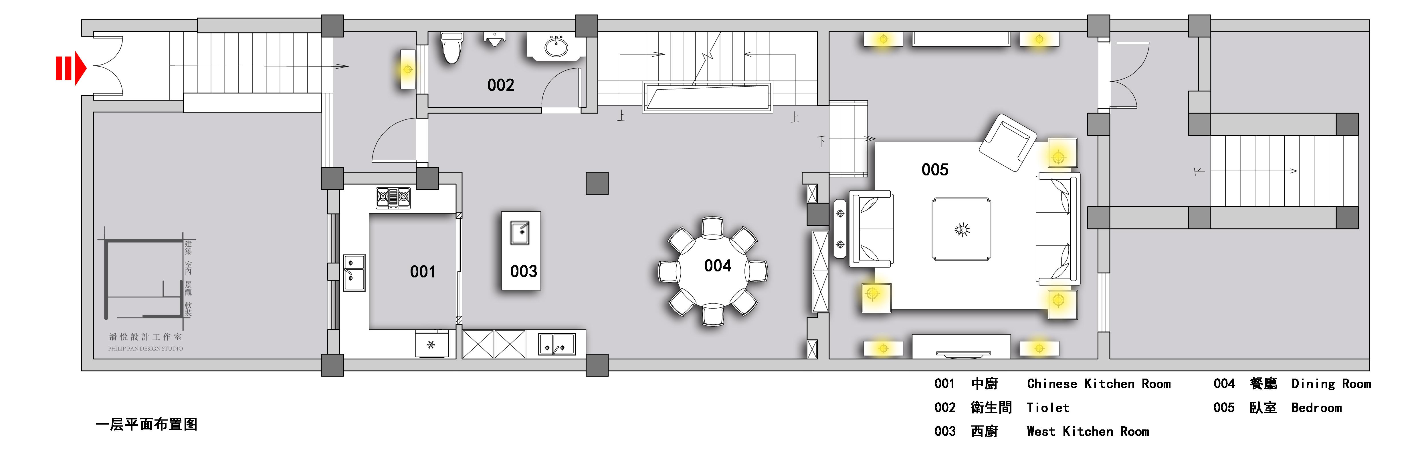 地下层平面图片来自潘悦设计事务所在雅舍·靜生活-常熟信壹景天花園的分享