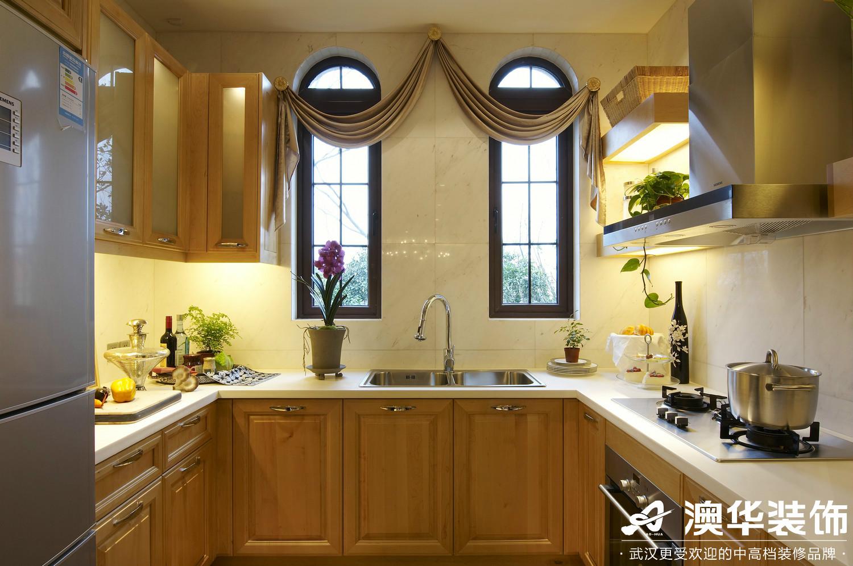 厨房图片来自澳华装饰有限公司在联投花山郡·东南亚风格的分享