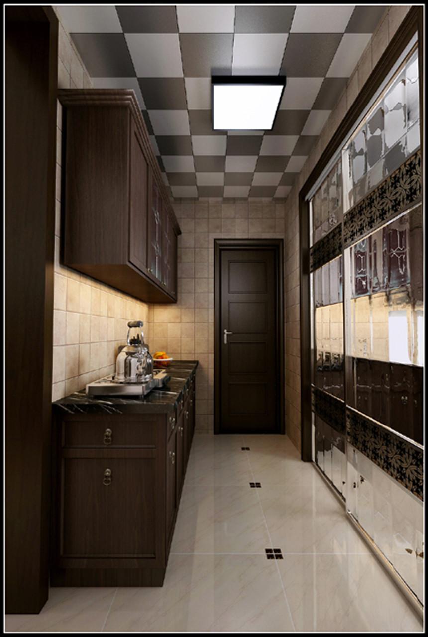 厨房图片来自北京居然元洲装饰小尼在中间建筑340平米现代风格的分享