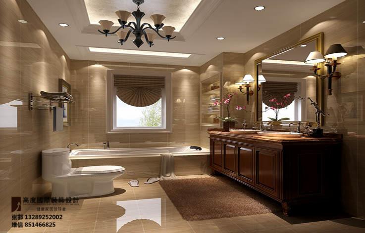 装修 设计 家装 高度国际 卫生间图片来自张邯在高度国际-鲁能七号院的分享