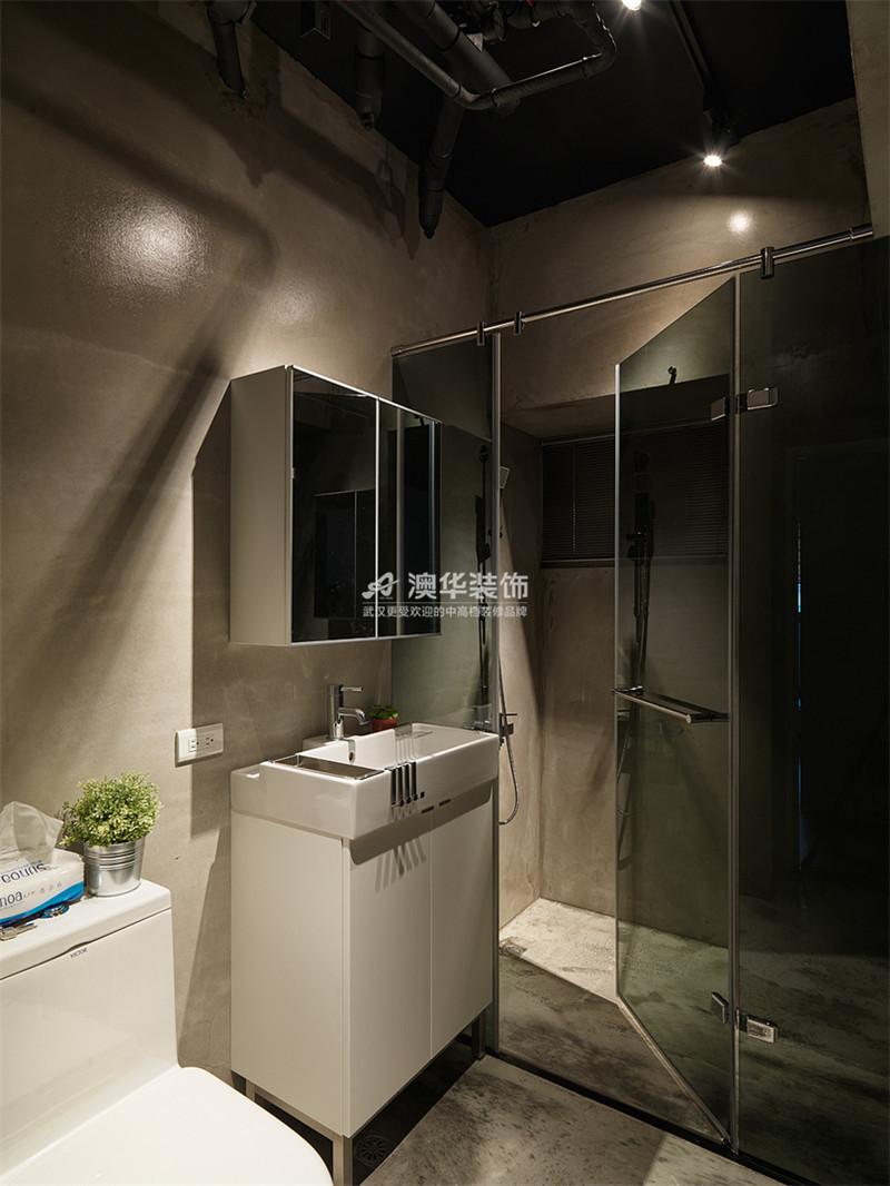卫生间图片来自澳华装饰有限公司在复地东湖国际·现代禅意的分享