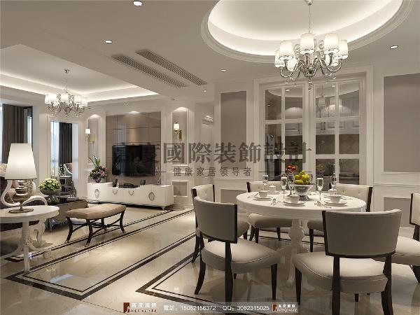 红树湾客厅细节效果图---成都高度国际装饰设计