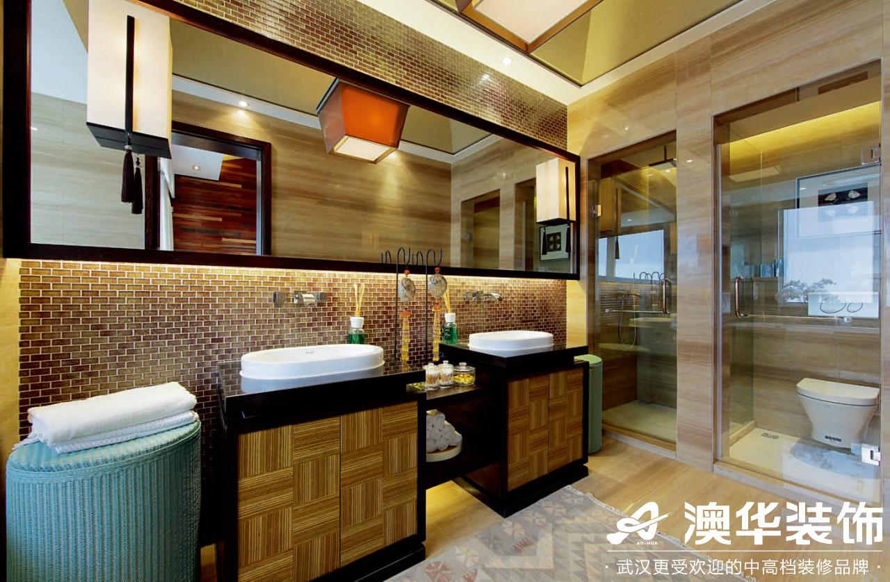 卫生间图片来自澳华装饰有限公司在海悦天地·现代泰式的分享