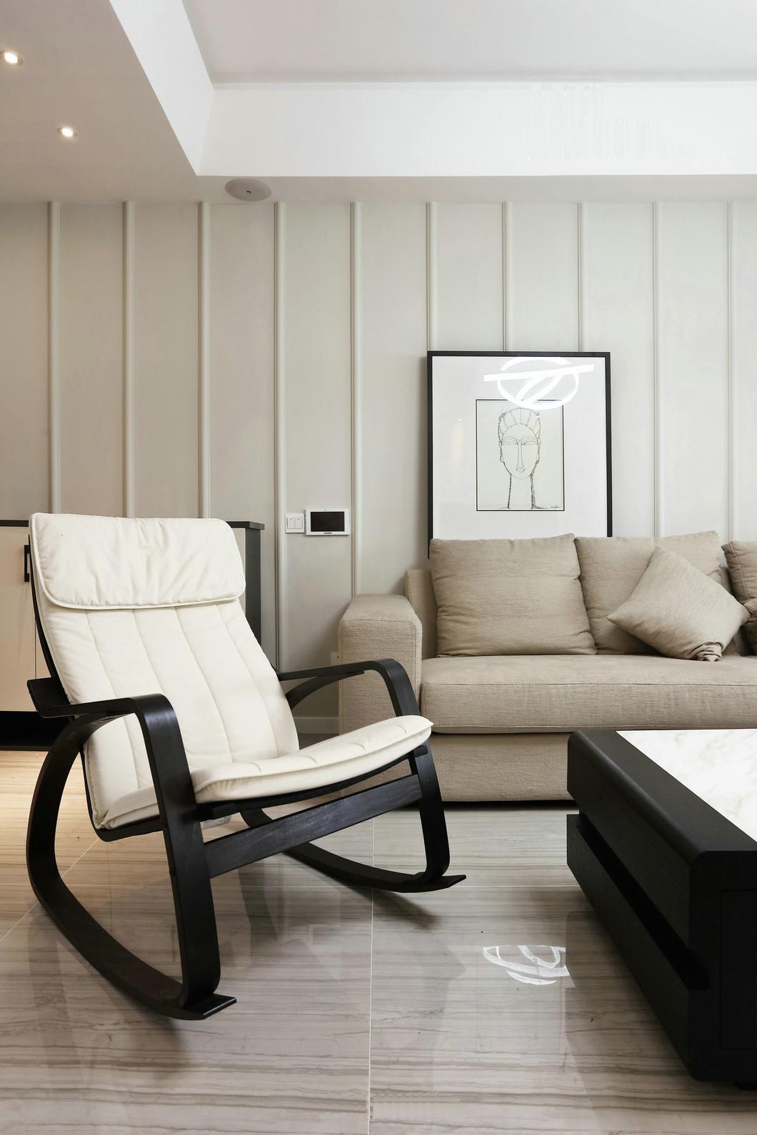 简约 三居 80后 客厅图片来自九鼎建筑装饰工程有限公司成都分在朗基天香95平现代简约温馨小居的分享