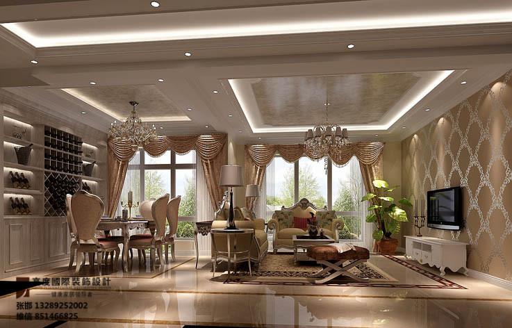 装修 设计 家装 高度国际 客厅图片来自张邯在高度国际-鲁能七号院的分享