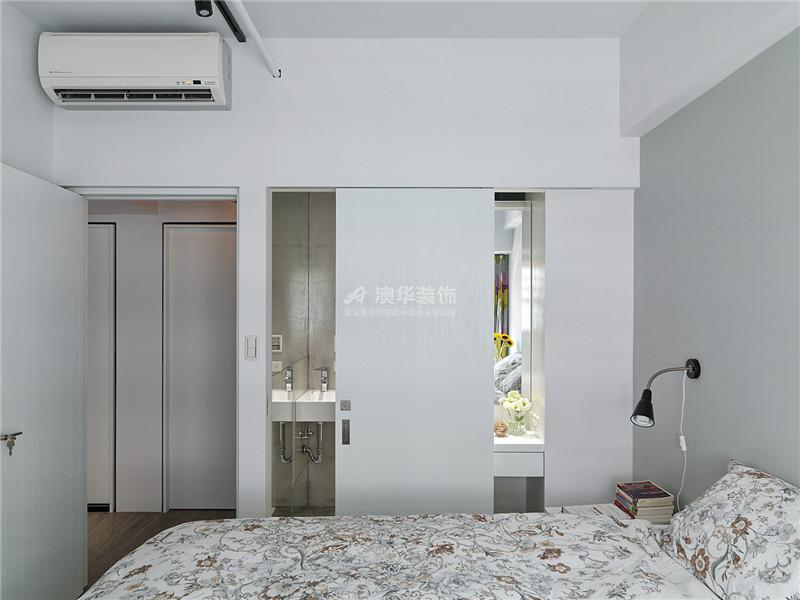 卧室图片来自澳华装饰有限公司在复地东湖国际·现代禅意的分享