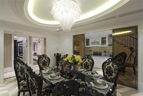 三居 现代 跃层 木质 白领 收纳 餐厅图片来自爱奥尼典石装饰在大木设计-新式现代装修风格的分享