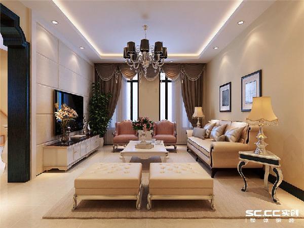 简欧风格强调建筑及室内装潢应具有历史的延续性,但又不拘泥于传统的逻辑思维方式,探索创新造型手法,讲究人情味