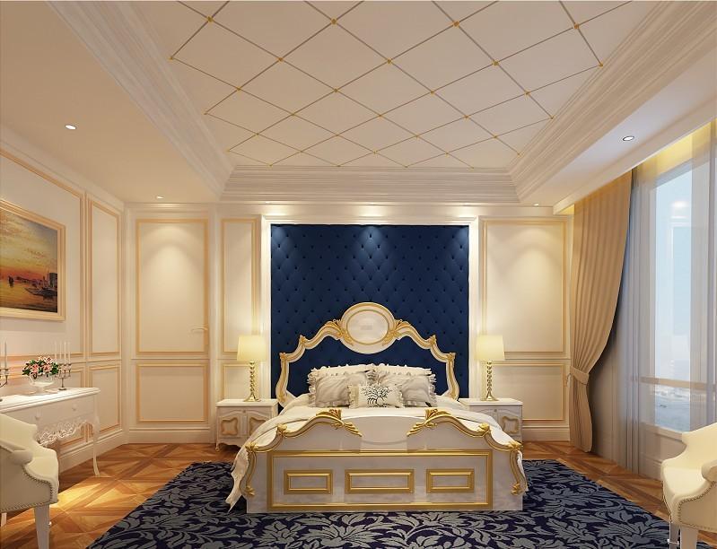 卧室图片来自北京居然元洲装饰小尼在120平米欧式清新的分享