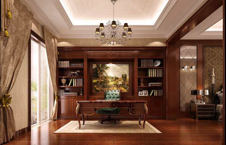 设计 装修 家装 书房图片来自张邯在高度国际-龙湖香醍溪岸的分享