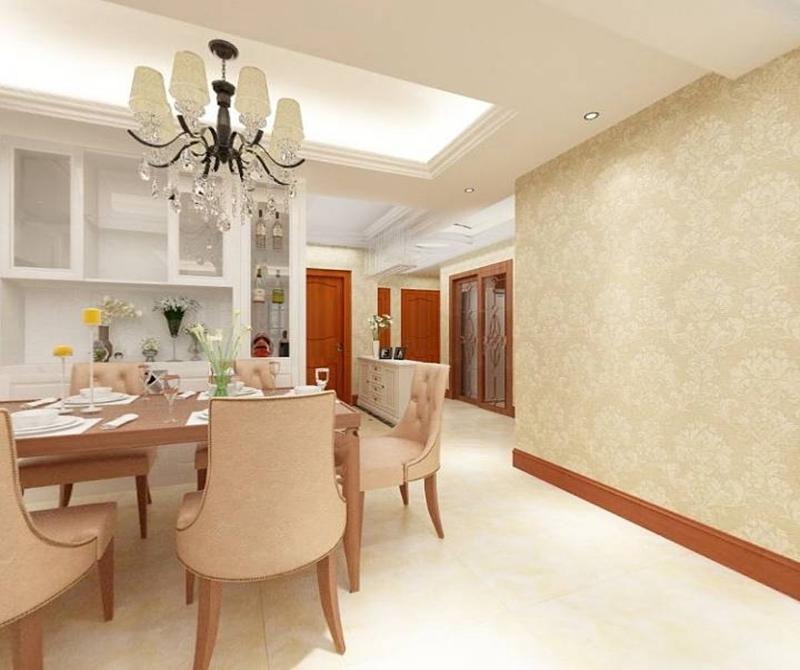 餐厅图片来自cdxblzs在光华锦苑 131方 欧式 三居的分享