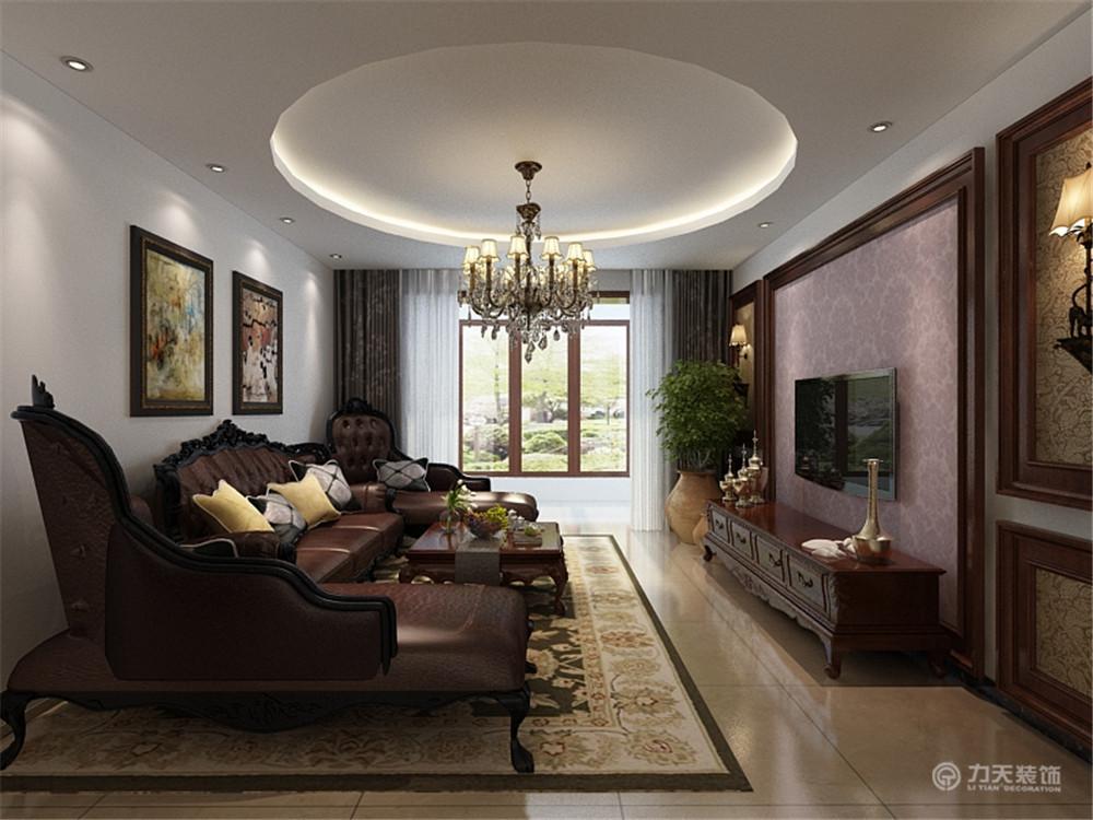 客厅图片来自阳光力天装饰在美式  金领国际  157㎡的分享