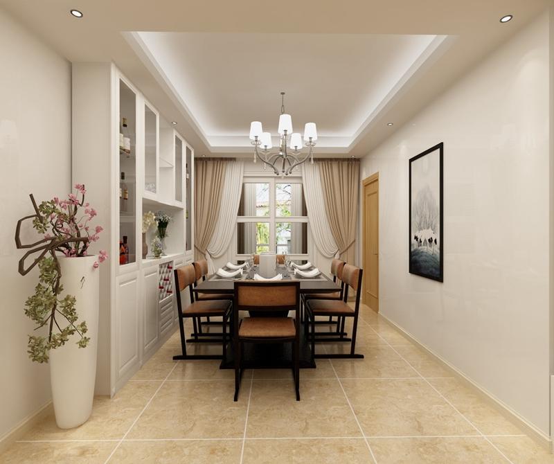光华锦苑 131方 欧式 三居 餐厅图片来自cdxblzs在光华锦苑 131方 欧式 三居的分享