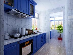 地中海 星耀五洲 三居 白领 小资 厨房图片来自阳光放扉er在力天装饰-星耀五洲99㎡的分享