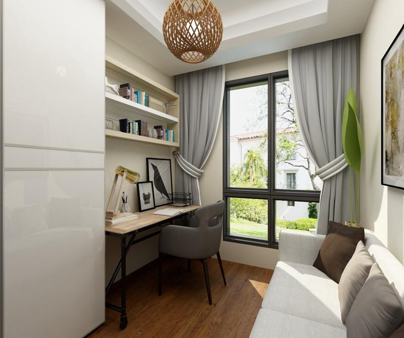 光华锦苑 131方 欧式 三居 书房图片来自cdxblzs在光华锦苑 131方 欧式 三居的分享
