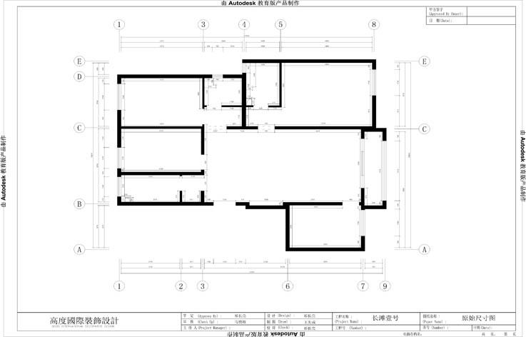 装修 设计 家装 欧式 三居 户型图图片来自张邯在高度国际-长滩壹号20号楼的分享