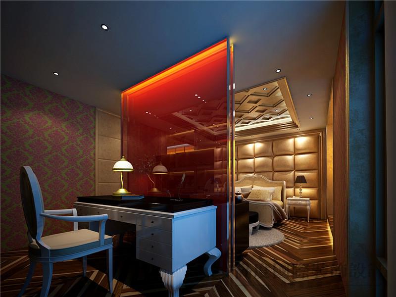简欧 别墅 别墅装修 会所 卧室图片来自沙漠雪雨在300平米优雅高贵别样会所的分享