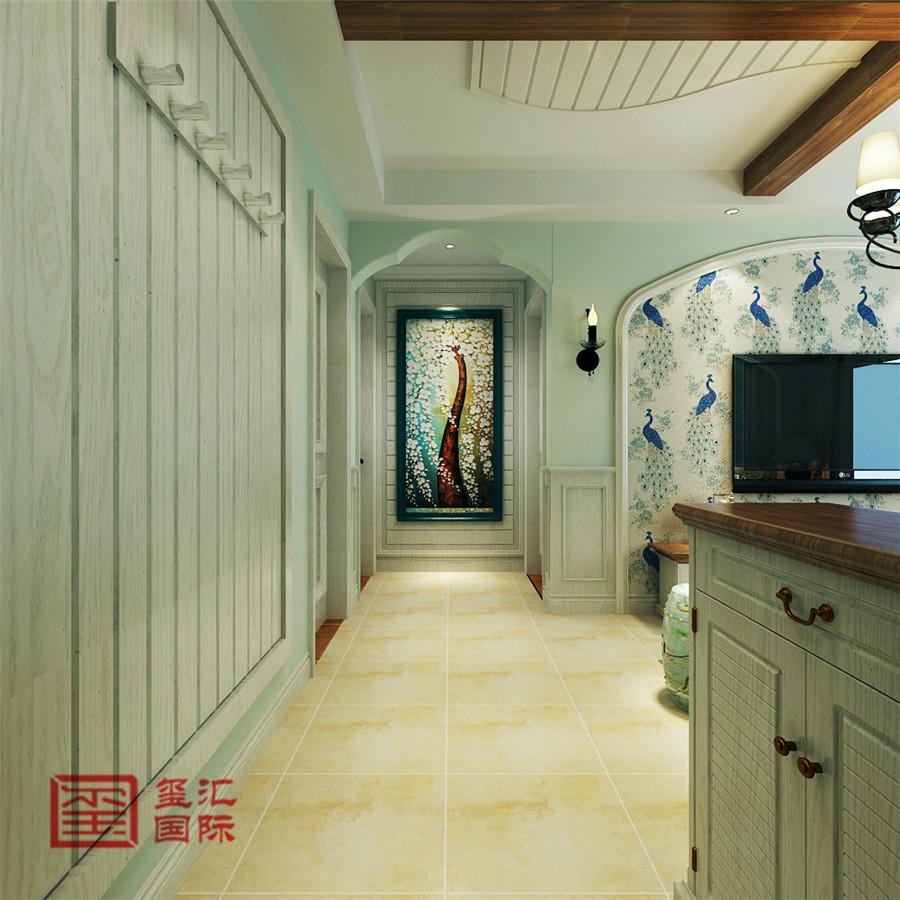 美式风格 玺汇国际 石家庄装修 玄关图片来自河北玺汇国际装饰公司在西苑小区110平美式风格的分享