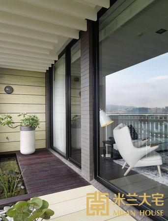 小资 北欧 收纳 阳台图片来自米兰大宅设计会所在经典北欧的分享