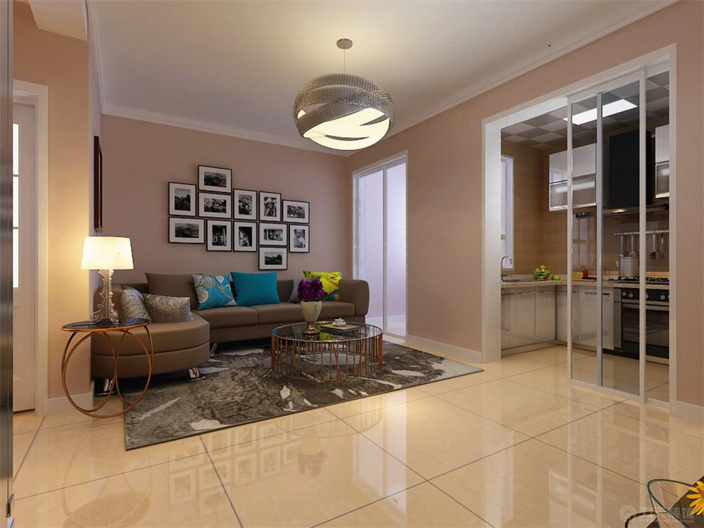 客厅图片来自阳光力天装饰在现代简约  红星国际  130㎡的分享
