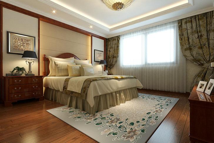 卧室图片来自业之峰装饰旗舰店在雅韵情怀的分享
