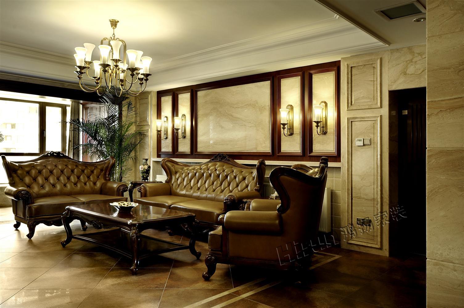 欧式 三居 白领 收纳 小资 客厅图片来自鸿扬家装武汉分公司在世纪江尚之北美阳光的分享
