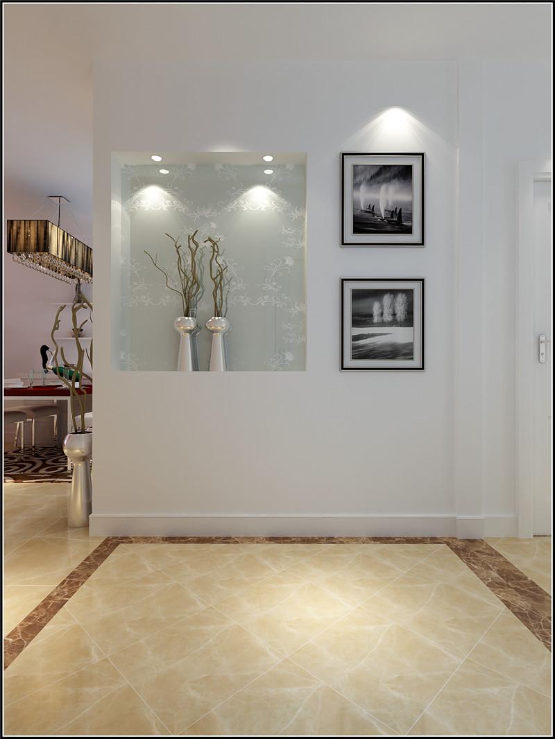 二居 简约 现代 玄关图片来自居然元洲装饰小杨在天天家园二室一厅现代简约风格的分享