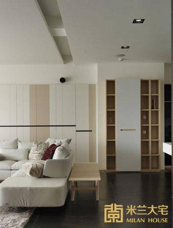 小资 北欧 收纳 客厅图片来自米兰大宅设计会所在经典北欧的分享