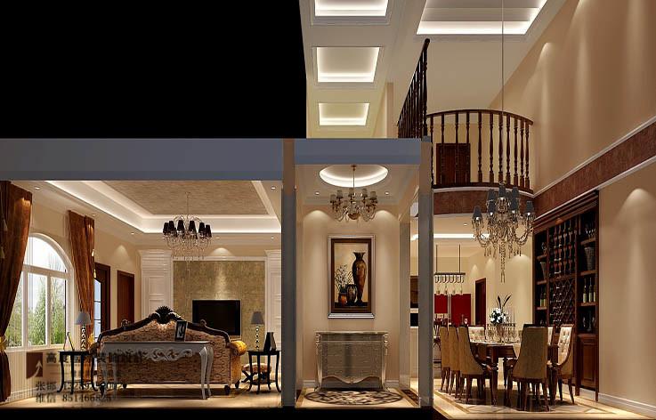 装修 设计 家装 别墅 欧式 楼梯图片来自张邯在高度国际-香江别墅的分享