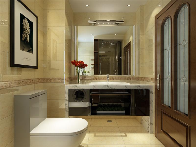 现代 中式 二居 卫生间图片来自居然元洲装饰小杨在富力又一城二居现代中式风的分享